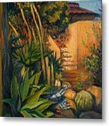 Jardin De Cactus Metal Print