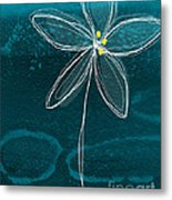 Jasmine Flower Metal Print by Linda Woods
