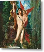 Jason And Eros Metal Print by Gustave Moreau