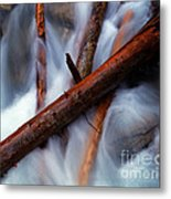 Jasper - Beauty Creek Logs Metal Print