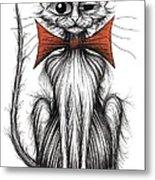 Jasper The Cat Metal Print