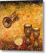 Jazz ... Metal Print by Draia Coralia