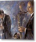 Jazz 01 Metal Print