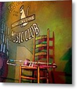 Jazz Break In New Orleans Metal Print
