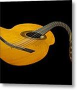 Jazz Guitar 2 Metal Print