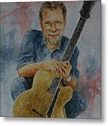 Jazz Guitarist Metal Print