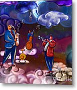 Jazz In Heaven Metal Print
