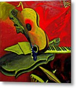 Jazz Infusion Metal Print