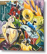 Jazz No. 4 Metal Print