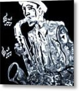 Jazz Notes Metal Print by Dan Sproul