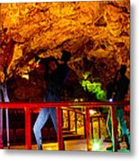 Jazz On The Caverns Metal Print