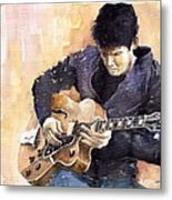 Jazz Rock John Mayer 02 Metal Print