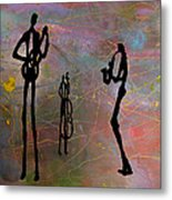 Jazz Trio 3 Metal Print