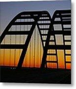 Jb Bridge Metal Print