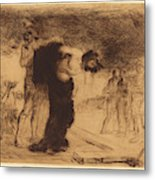 Jean-louis Forain, Christ Stripped Of His Clothes Metal Print
