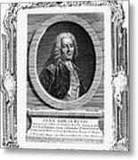 Jean Louis Petit (1674-1750) Metal Print