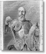 Jean Parisot De La Valette (1494-1568) Metal Print