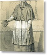 Jean-siffrein Maury  French Priest Metal Print