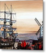 Jeanie Johnston Famine Ship Metal Print