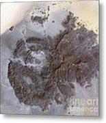 Jebel Uweinat Mountains, Satellite Image Metal Print