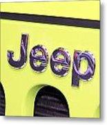 Jeep Logo Metal Print