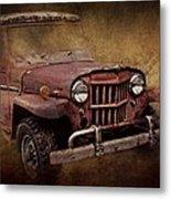 Jeep Willys Metal Print