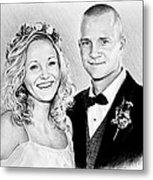 Jeff And Anna Metal Print