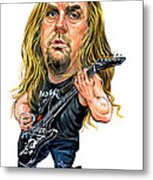 Jeff Hanneman Metal Print by Art