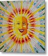 Jeffer Sun Metal Print