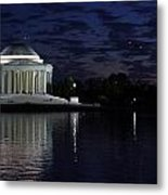 Jefferson At Dusk0253 Metal Print