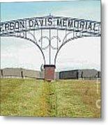 Jefferson  Davis Memorial Park Metal Print
