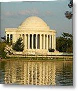 Jefferson Memorial At Sunset Metal Print