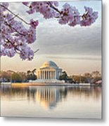 Jefferson Memorial In The Early Morning Metal Print