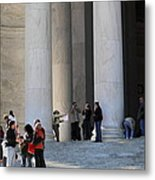 Jefferson Memorial - Washington Dc - 01132 Metal Print by DC Photographer