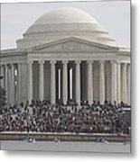 Jefferson Memorial - Washington Dc - 01134 Metal Print