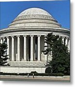 Jefferson Memorial Washington Metal Print