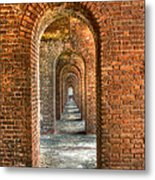 Jefferson's Arches Metal Print