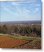 Jefferson's View From Monticello Metal Print