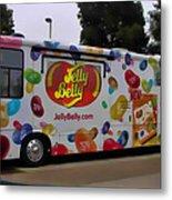Jelly Belly On Wheels Metal Print