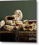 Jelly Donuts Metal Print