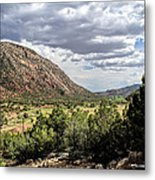 Jemez Mountain Valley Metal Print