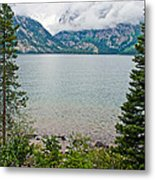 Jenny Lake In Grand Tetons National Park-wyoming  Metal Print