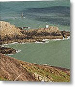 Jerbourg Point On Guernsey - 3 Metal Print