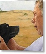 Jerry And Ebby Metal Print