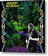 Jerry At Psychedelic Creek Metal Print
