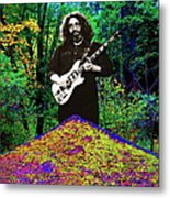 Jerry At The Cosmic Pyramid In The Woods  Metal Print
