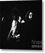 Jerry Garcia - Space Your Face Metal Print