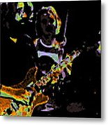 Jerry Gets Psychedelic At Winterland Metal Print
