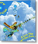 Jerry In The Sky With Love Metal Print
