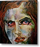 Jerry Metal Print by Michelle Dommer